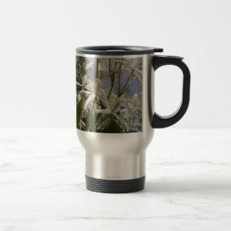 Mug De Voyage Fleurs blanches