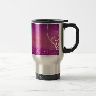 Mug De Voyage Flourishes de rose