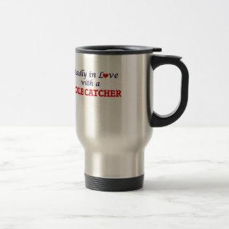 Mug De Voyage Follement dans l'amour avec un receveur de taupe