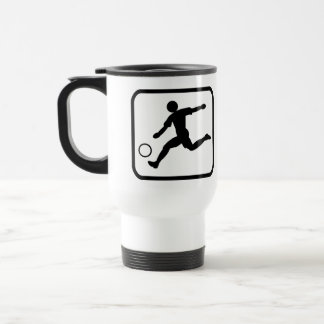 Mug De Voyage Footballer pro