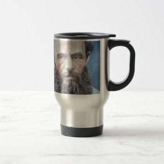 Mug De Voyage fyodor dostoyevsky - portrait d'huile