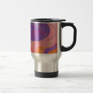 Mug De Voyage Galaxie rose