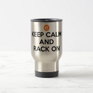 Mug De Voyage Gardez le calme et le support dessus
