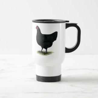 Mug De Voyage Géant du Jersey :  Poule noire