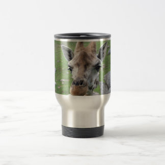 Mug De Voyage Girafe curieuse