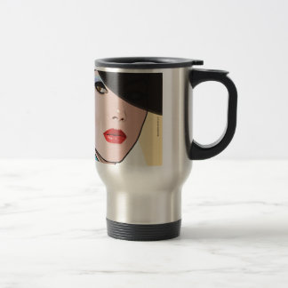 Mug De Voyage Grâce de femme d'art de bruit