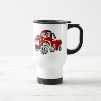 Mug De Voyage Grand camion rouge