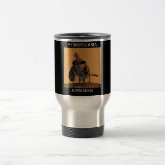 Mug De Voyage Grouse de Ruffed (Pennsylvanie)