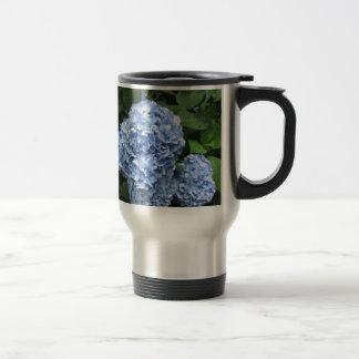 Mug De Voyage hortensia bleu