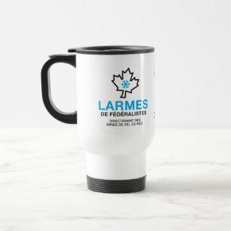 Mug De Voyage humeur Canada de Larmes de Fédéraliste Québec de