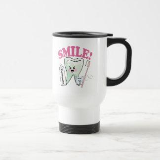 Mug De Voyage Hygiéniste dentaire de dentiste