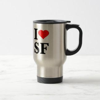 Mug De Voyage I coeur San Francisco