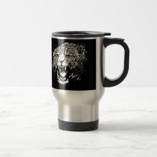 Mug De Voyage Jaguar noir et blanc