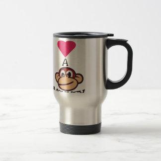 Mug De Voyage J'aime le singe