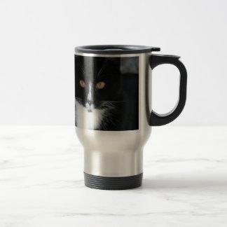 Mug De Voyage Joli smoking Kitty de garçon