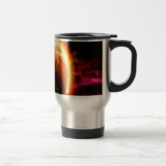 Mug De Voyage La galaxie tient le premier rôle l'aurore