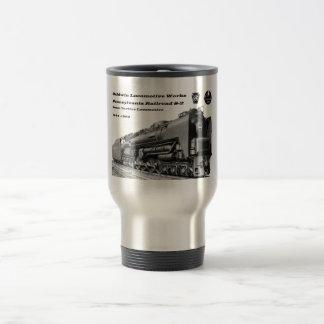Mug De Voyage La locomotive de Baldwin fonctionne la turbine à
