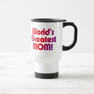 Mug De Voyage La plus grande maman du monde