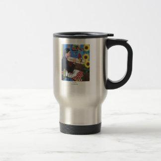 """Mug De Voyage """"L'artiste """""""