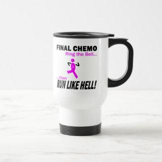 Mug De Voyage Le chimio final courent beaucoup - cancer du sein