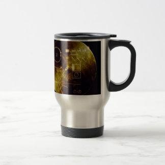 Mug De Voyage Le disque d'or de Voyager