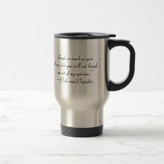 Mug De Voyage Le rire autant que vous choisissent Jane Austen