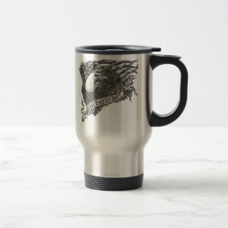 Mug De Voyage Libres vivants ou meurent Eagle