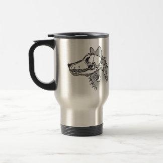 Mug De Voyage Loup de rayon X