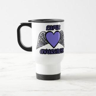 Mug De Voyage Lupus de coeur/ailes…