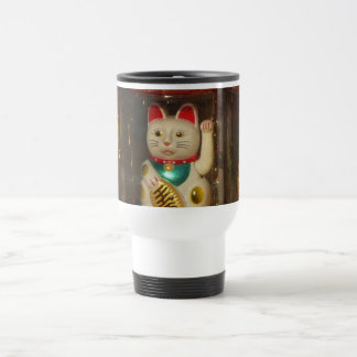 Mug De Voyage Maneki-neko, chat chanceux, Winkekatze