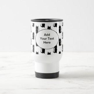 Mug De Voyage Modèle de chat noir