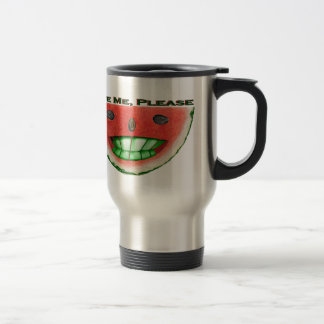 Mug De Voyage Mordez-moi pastèque