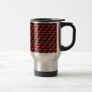 Mug De Voyage Motif de Krill dans le noir