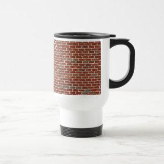 Mug De Voyage Motif rouge de mur de briques