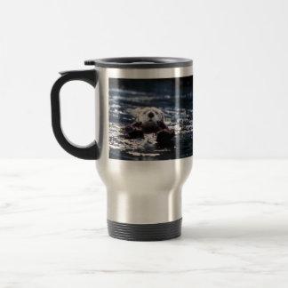 Mug De Voyage Natation de loutre de mer