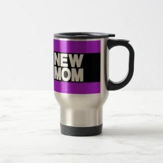 Mug De Voyage Nouveau pourpre d'atterrisseur de maman