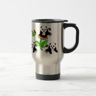 Mug De Voyage Ours panda de tournesol