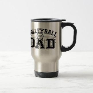 Mug De Voyage Papa de volleyball