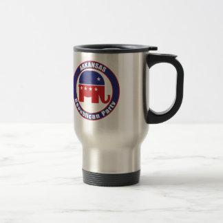 Mug De Voyage Parti Républicain de l'Arkansas