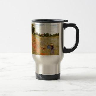 Mug De Voyage Pavots sauvages de Claude Monet //