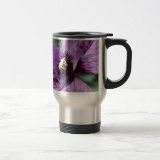 Mug De Voyage Pavots violets/pavots pourpres