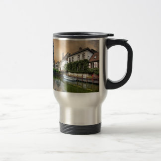 Mug De Voyage Paysage de rivière de la Belgique