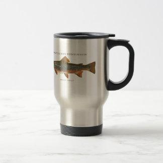 Mug De Voyage Pêche de truite de ruisseau