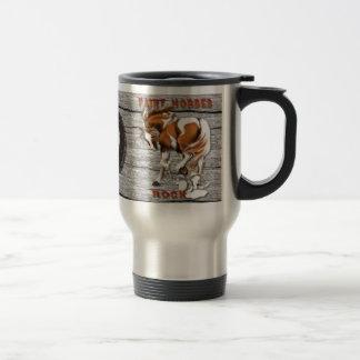 Mug De Voyage Peignez le mugsP de roche de chevaux