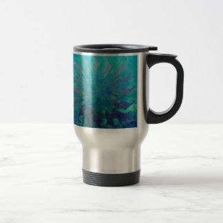 Mug De Voyage Peinture numérique de cercle de dauphin du © P