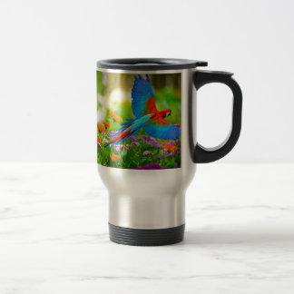 Mug De Voyage Perroquet d'ara
