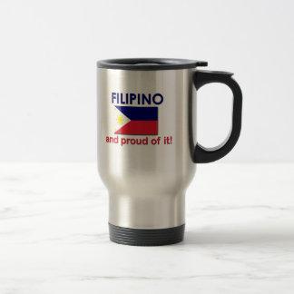 Mug De Voyage Philippin fier