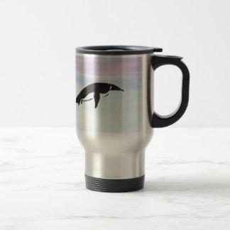 Mug De Voyage Pingouin de natation