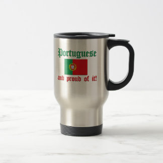 Mug De Voyage Portugais fier