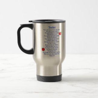 Mug De Voyage Professeur